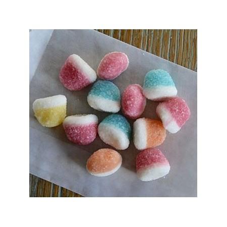 Bolsita semitransparente con dulces personalizada