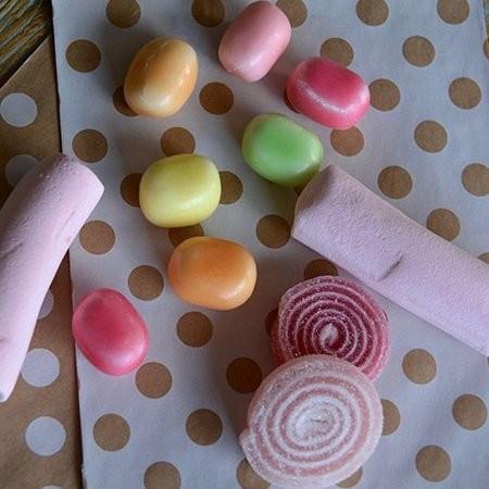 Bolsita Kraft con dulces personalizada