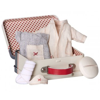 Maleta, con 2 conjuntos de ropa, (Micro)