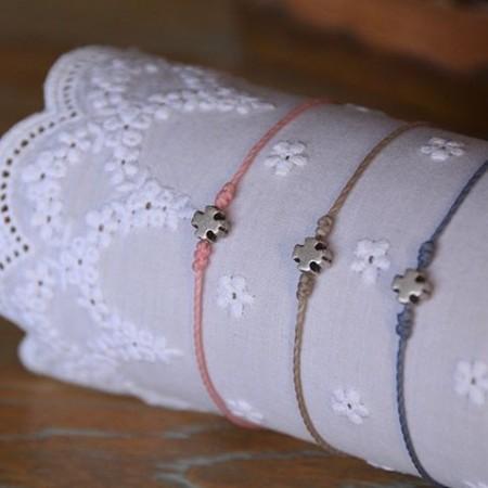 Small cross bracelet
