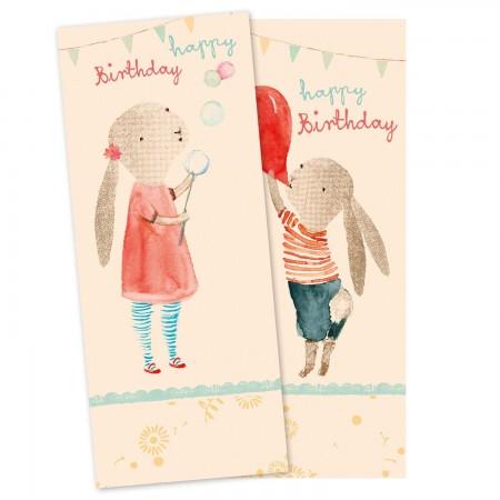 Paper napkins, Birthday