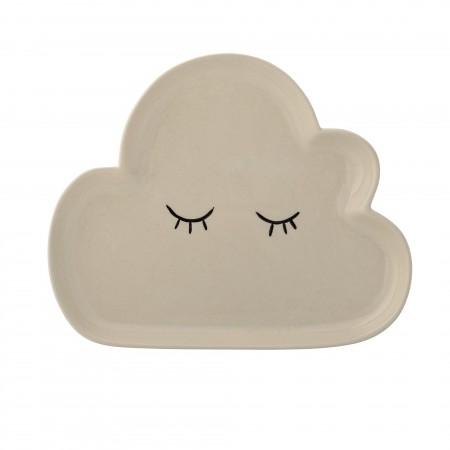Plato forma de nube