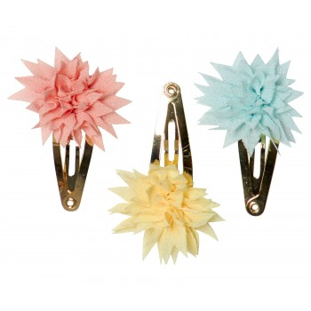 Hair clips mini Dhalia Summer (3u.)