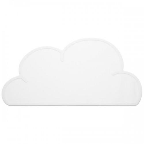 Nube blanca mantel individual protector de mesa