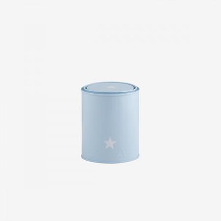 Bote pequeño estrella azul cielo