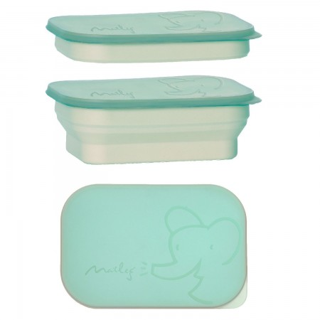 Lunch box, turquoise