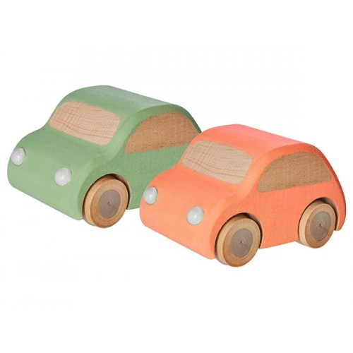 Coche de madera