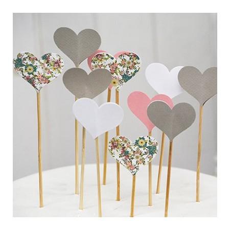 Topcake hearts (10u.)