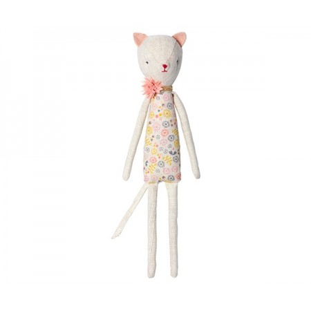 Muñeco Gatita Kitty con flor (Mini)