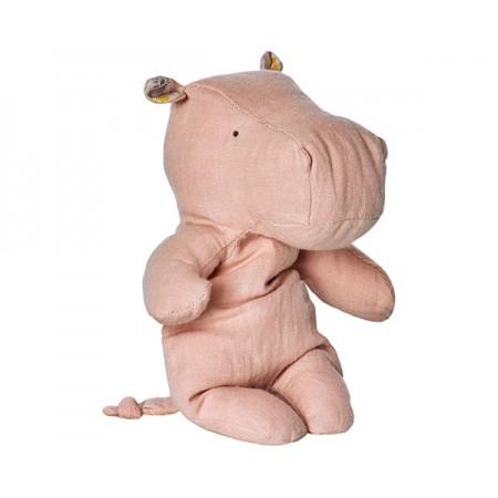 Peluche, pequeño hipopótamo, Rose
