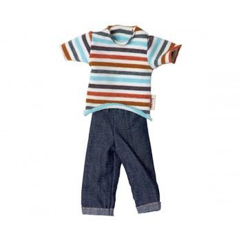 Camiseta y pantalón ropa hermano Ginger T1