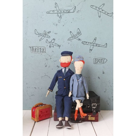Ginger Mum, Stewardess Suit, size 1