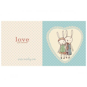 Love Rabbits card