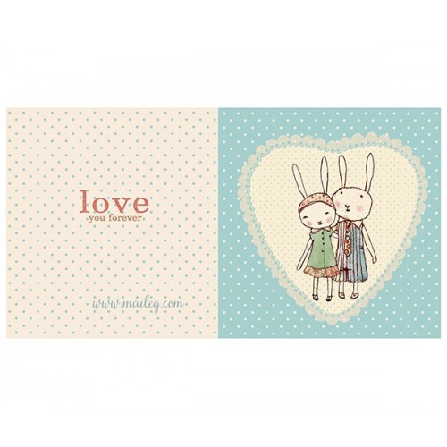 Love Rabbits card