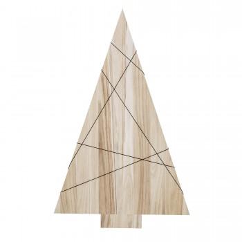 Árbol Navidad de madera 150 cm