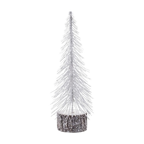 Tree white glitter (medium)