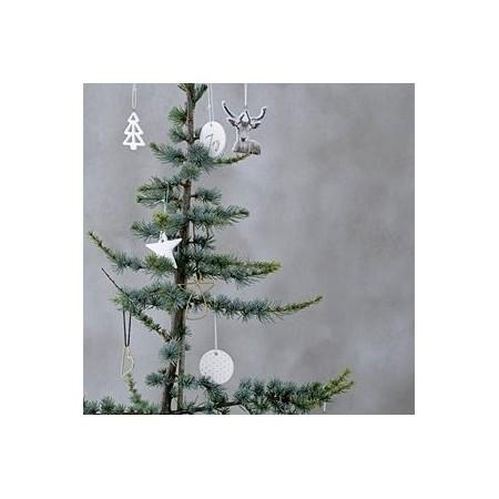Siluetas madera decoración Navidad (4u.)