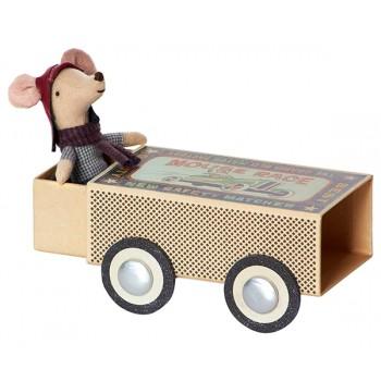Muñeco Ratoncito conductor en caja (Big)