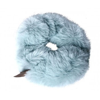 Plush scrunchie mint