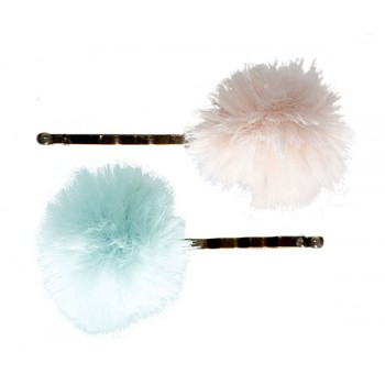 Bobby pins powder/mint (2u.)