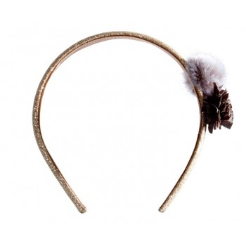Hair band, grey