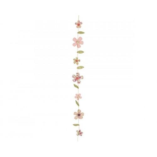 Guirnalda Flor primavera decoración tela