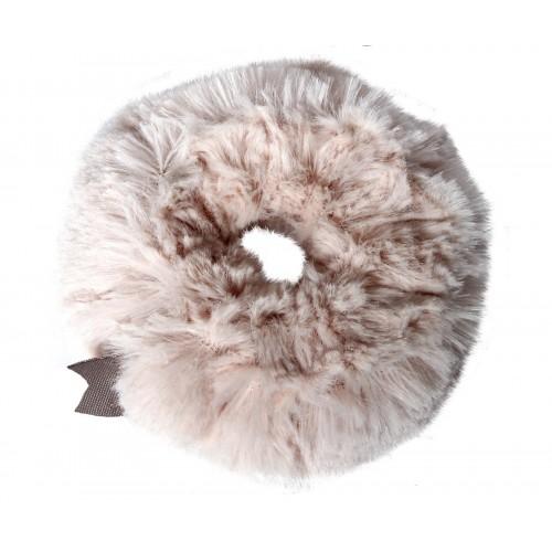 Plush scrunchie powder