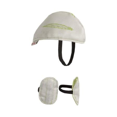 Helmet and kneepads  (Medium)