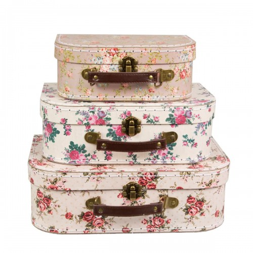 Suitcase vintage flower (set 3u.)