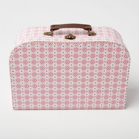 Suitcase retro flowers (set 3u.)