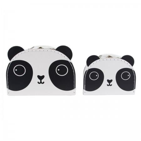 Suitcase panda kawaii (set 2u.)