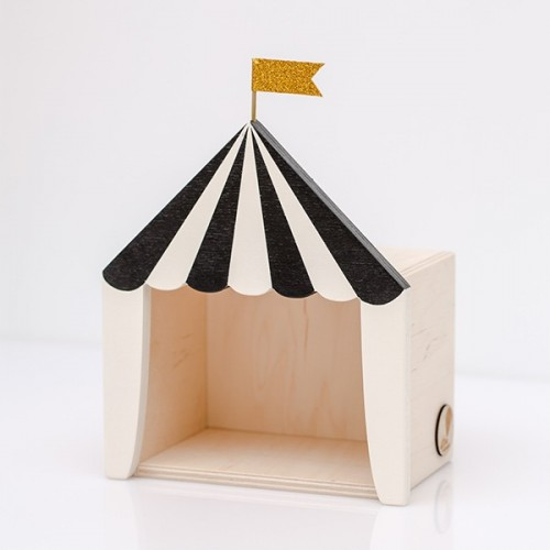 Circus shelf display black (Mini)