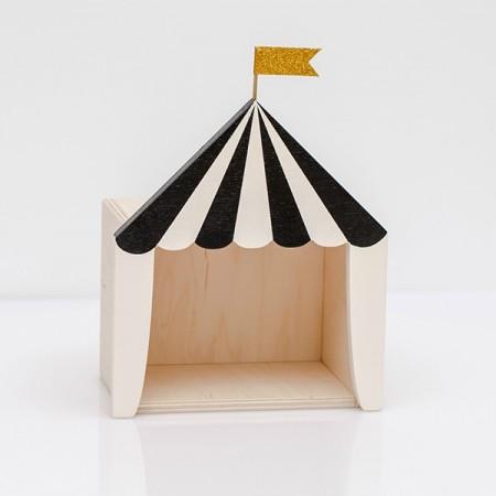 Circo Expositor Negro  (Mini)