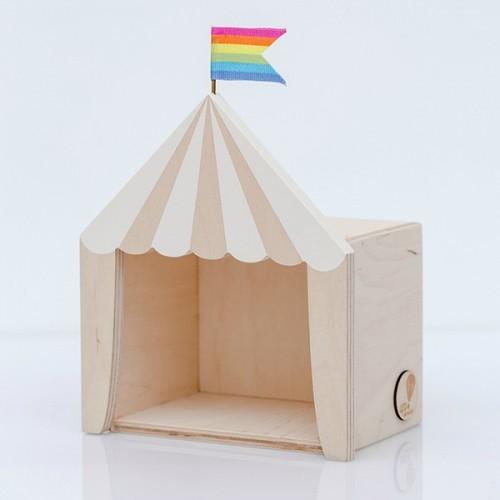 Circus shelf display white (Mini)