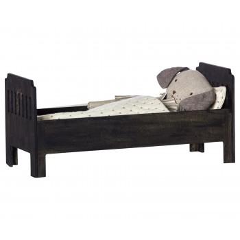 Bed large black