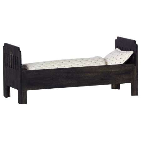 Bed large black