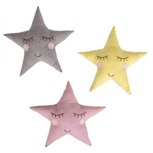 Cojín en forma de estrella.