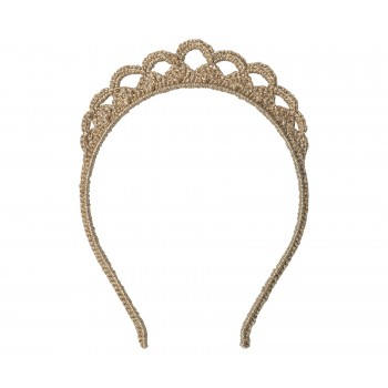 Hairband tiara, gold