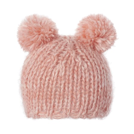 Best Friends knitted hat rose