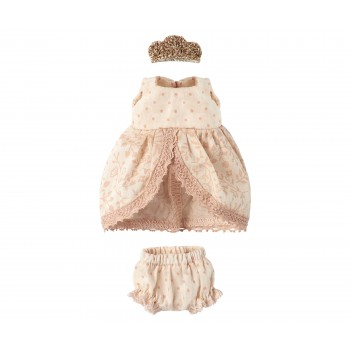 Micro & mouse princess set, rose