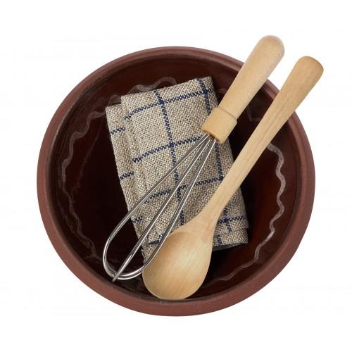 Utensils & Mixing Bowl