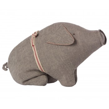 Muñeco Cerdito gris (Medium)