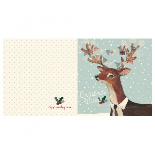 Reindeer, double card