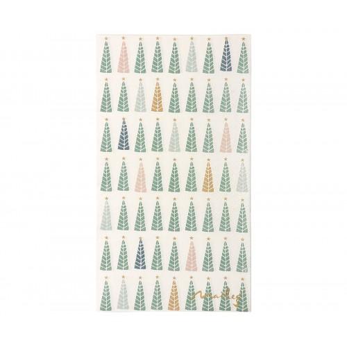 Servilletas de papel árboles Navidad