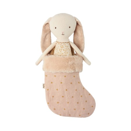 Conejito Bunny Ángel con calcetín rosa