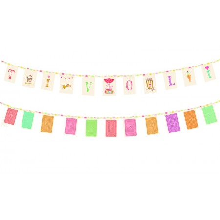 Tivoli fabric garland
