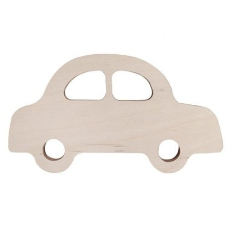 Car wooden deco