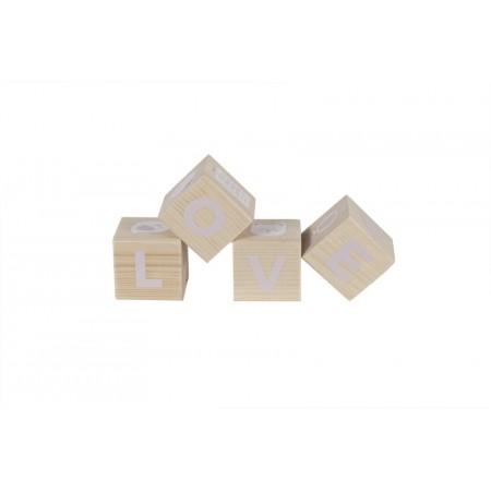 Cubo de madera.