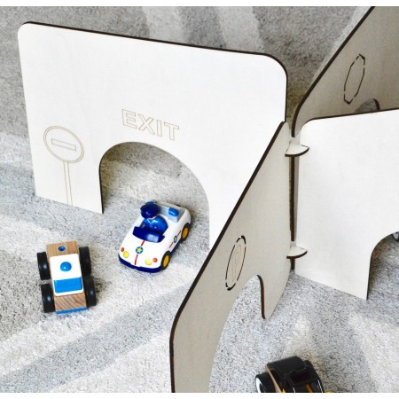 3D assembling garage