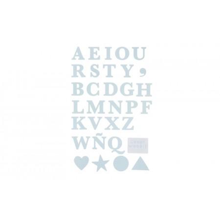 Vinyl, ABC TYPE blue
